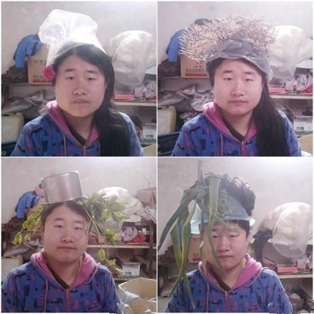 [视频]奇葩民间设计师 锅碗瓢盆头顶菜刀