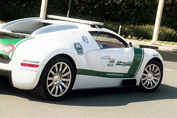 (迪拜警方 布加迪威龙 警车)