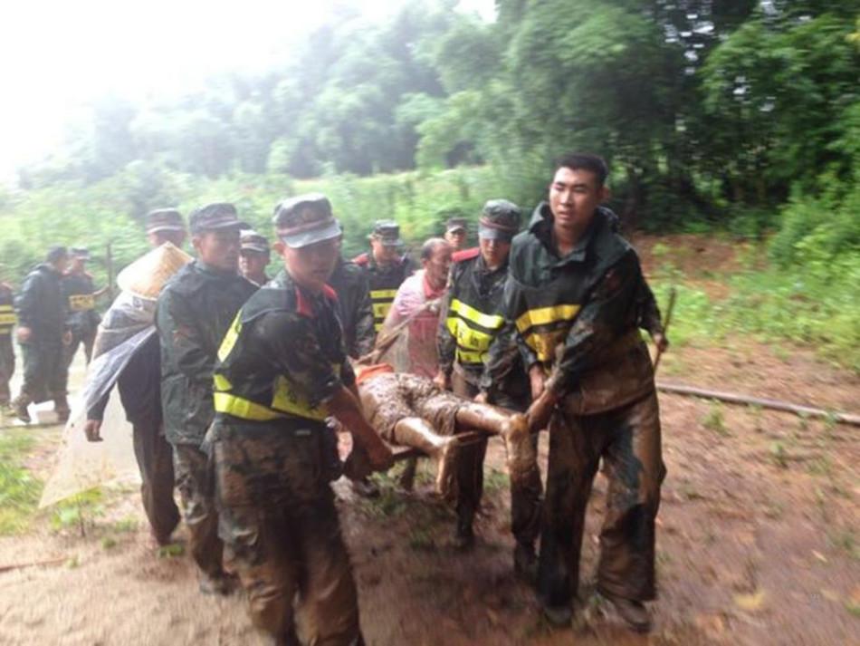 [视频]云南芒海发生泥石流灾害致13人死亡