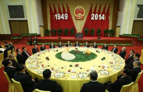 [视频]揭秘国庆招待会 国宴用餐以淮扬菜为基准图片