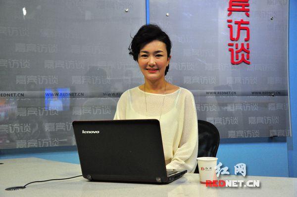 湖南广播电视台主持人刘梦娜4日10:30作客红网
