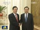 [视频]张德江与韩国国会议长举行会谈