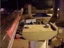 [视频]长沙一人行天桥遭碰撞垮塌 货车司机身亡