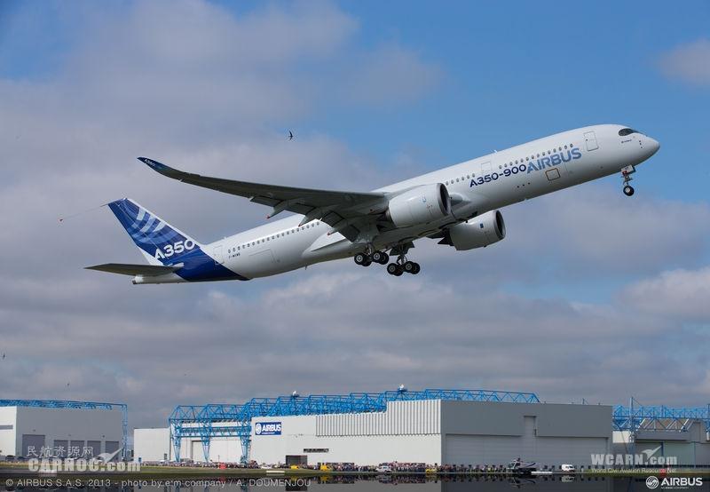 [视频]空客A350商业首飞成功
