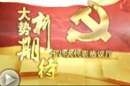 [十八大代表专访]张硕辅:2020年实现全面小康 永州有信心