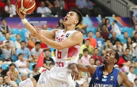 [视频]大胜哈萨克斯坦 中国男篮晋级八强