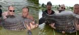 [视频]英国游客在泰国钓起200斤大鲤鱼
