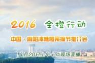 2016中国·麻阳冰糖橙采摘节推介会