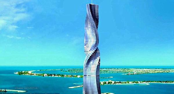 [视频]迪拜将建80层全新旋转式酒店 楼层可随心旋转