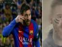 [视频]残暴梅西38分钟造3球打花对手 进球献癌症儿童