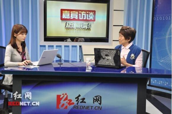 肿瘤防治宣传周:卢光琇做客红网嘉宾访谈