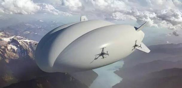 [视频]关注巴黎航展:混合式飞艇航展舞台引关注