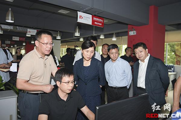 李微微看望红网工作团队:网住了人心 彰显了责任担当与作为