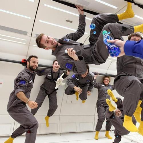 """[视频]法国""""失重飞机""""带你一起体验零重力"""
