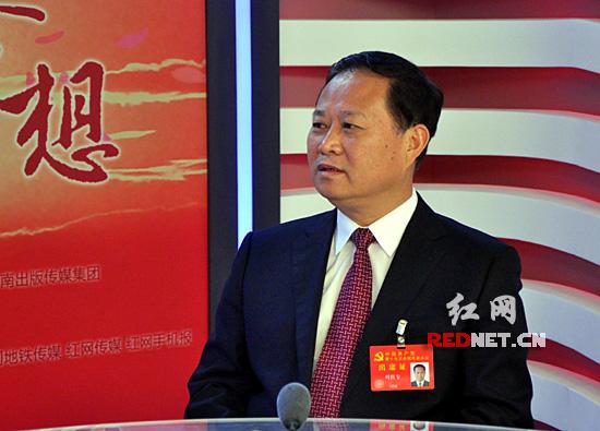 [盛开的梦想·代表访谈]叶红专:湘西将按照新时代要求 坚决打赢脱贫攻坚战