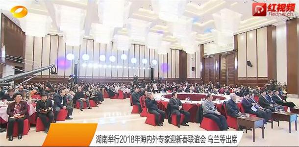 湖南举行2018年海内外专家迎新春联谊会 乌兰等出席