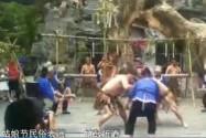 绥宁苗族四月八姑娘节民俗表演:竹鼓催春