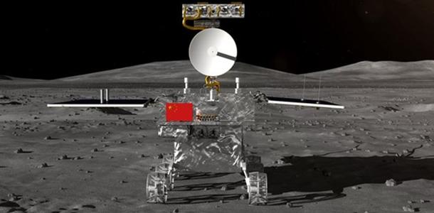 """[视频]""""嫦娥四号""""月球车外形首次公开"""