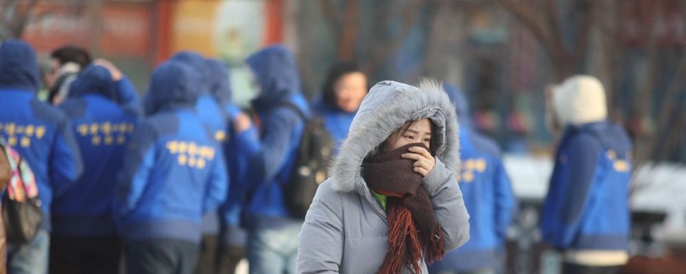 [视频]冷空气来袭 多地迎入冬来最冷一天