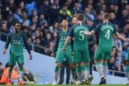 [视频]欧冠:热刺总分4-4曼城 凭借客场进球多 时隔57年再进四强
