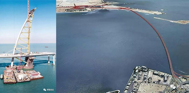 [视频]科威特跨海大桥贾比尔大桥落成