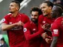 [视频]英超:利物浦3-2绝杀纽卡超曼城2分再登顶 萨拉赫破门伤退